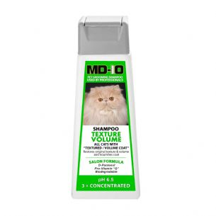 MD10 CAT Texture Volume Shampoo (2 sizes)  Shampoo for Persian Cats